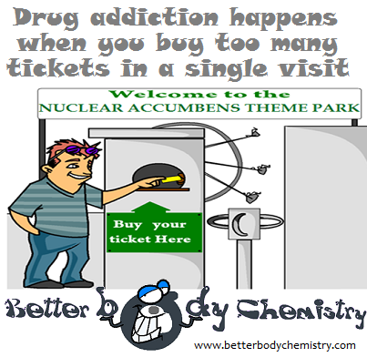 buying tickets for nuclear accumbens