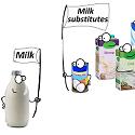 milk verus a milk substitute