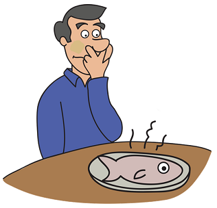 the trouble with eating fish