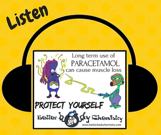 Listen to paracetamol dangers