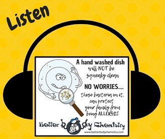 listen to dishwasher making you allergic