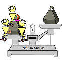 the insulin status scale