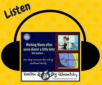 listen to working moms and childhood obesity