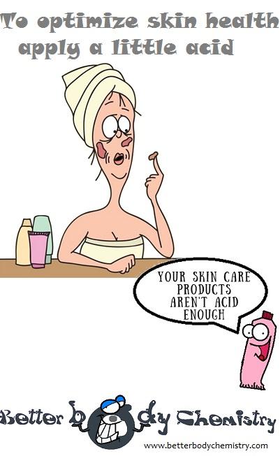 skin falling off