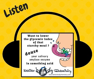Listen to acid lower glycemic index