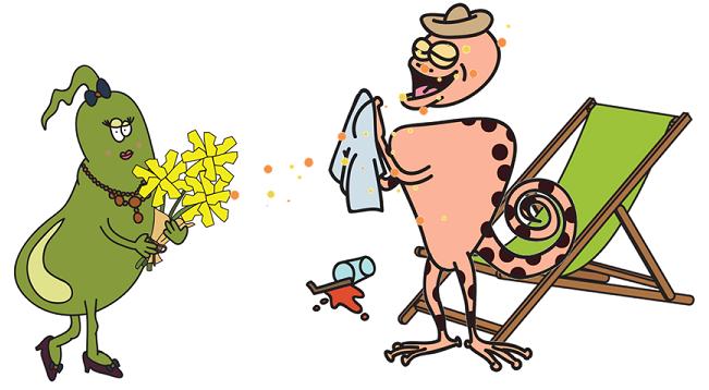 bile acids making GLP-1 sneeze