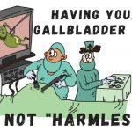 gallbladder out
