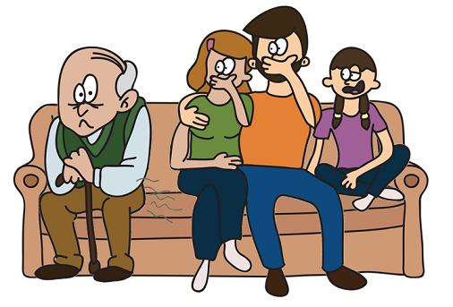 grandpa farting