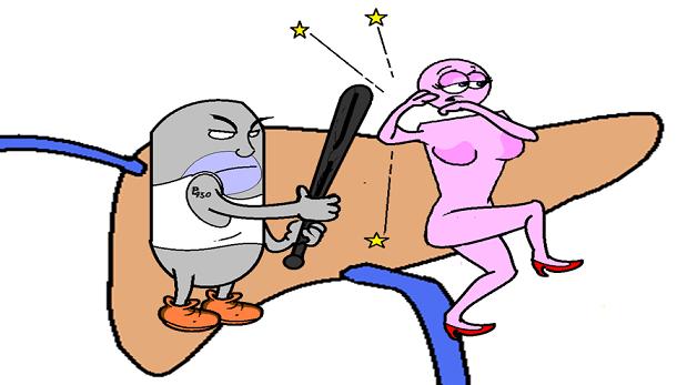 cytochrome damaging estrogen