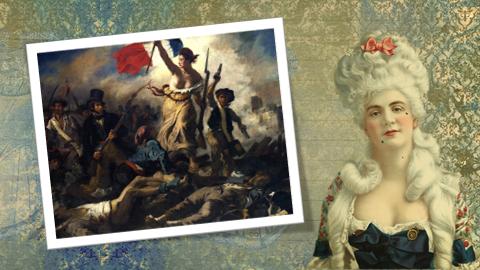 Maria Antoinette gone grey