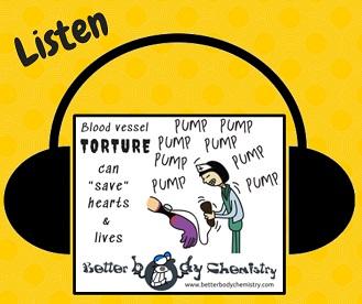 Listen to blood vessel torture