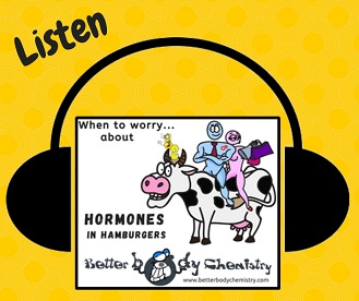 listen hormones in hamburgers