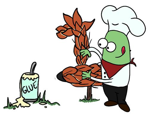 transglutaminase reshaping gluten