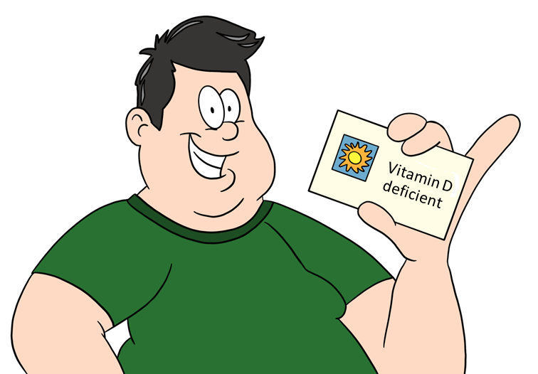 card carrying member of vitamin deficient club